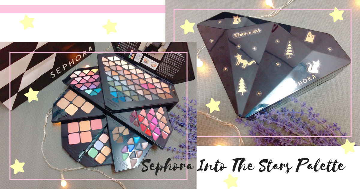 into the stars palette sephora review
