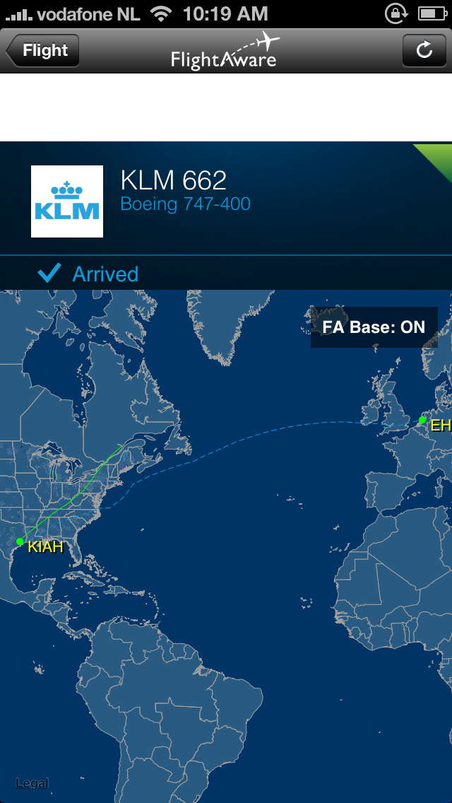klm houston to amsterdam review