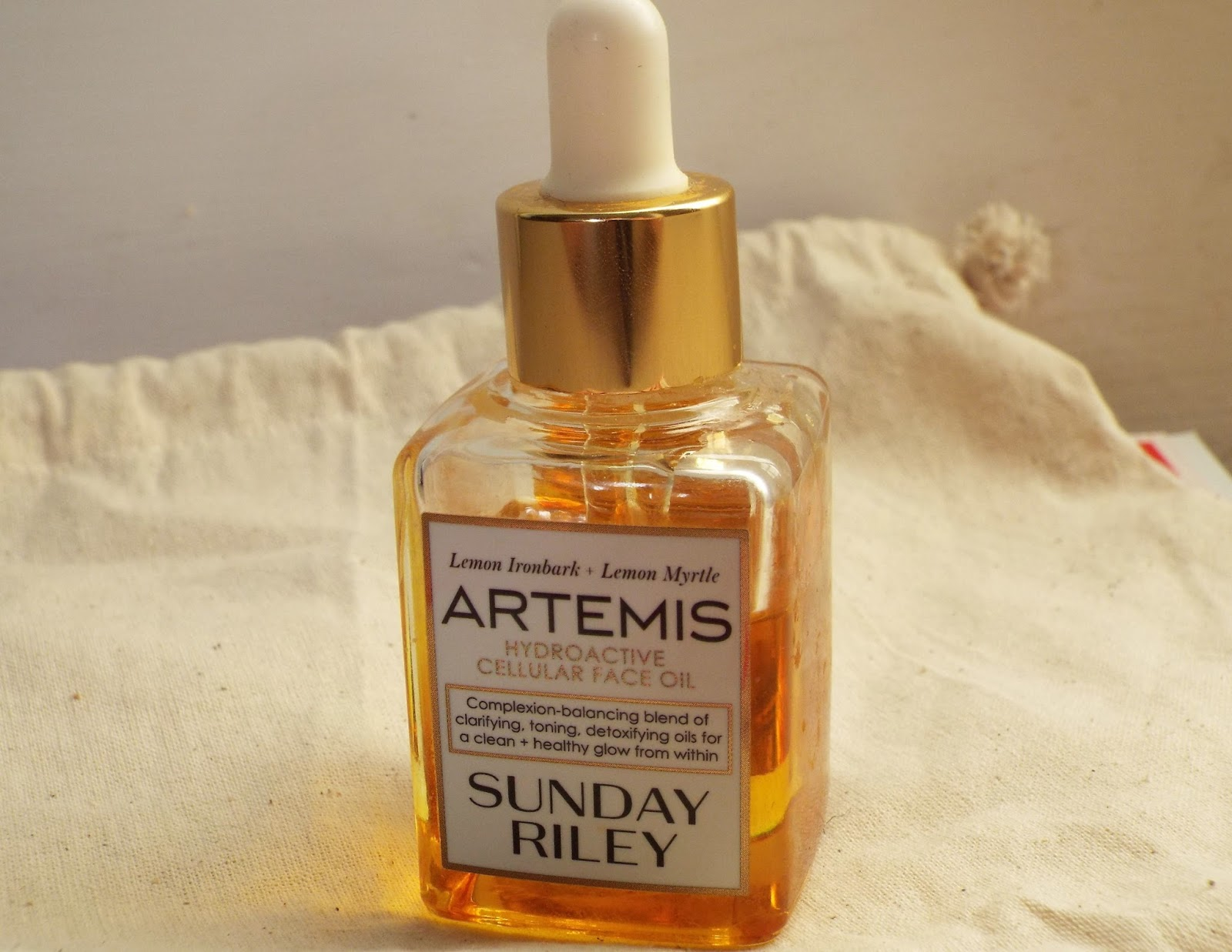 sunday riley flora face oil review