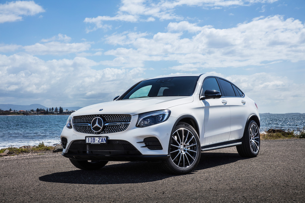 mercedes glc coupe 2017 review