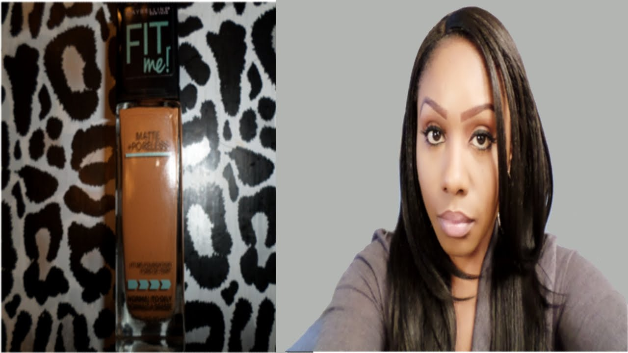 maybelline fit me foundation coconut 355 review