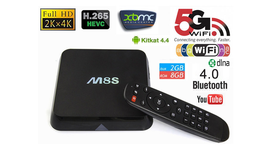m8s plus android tv box review