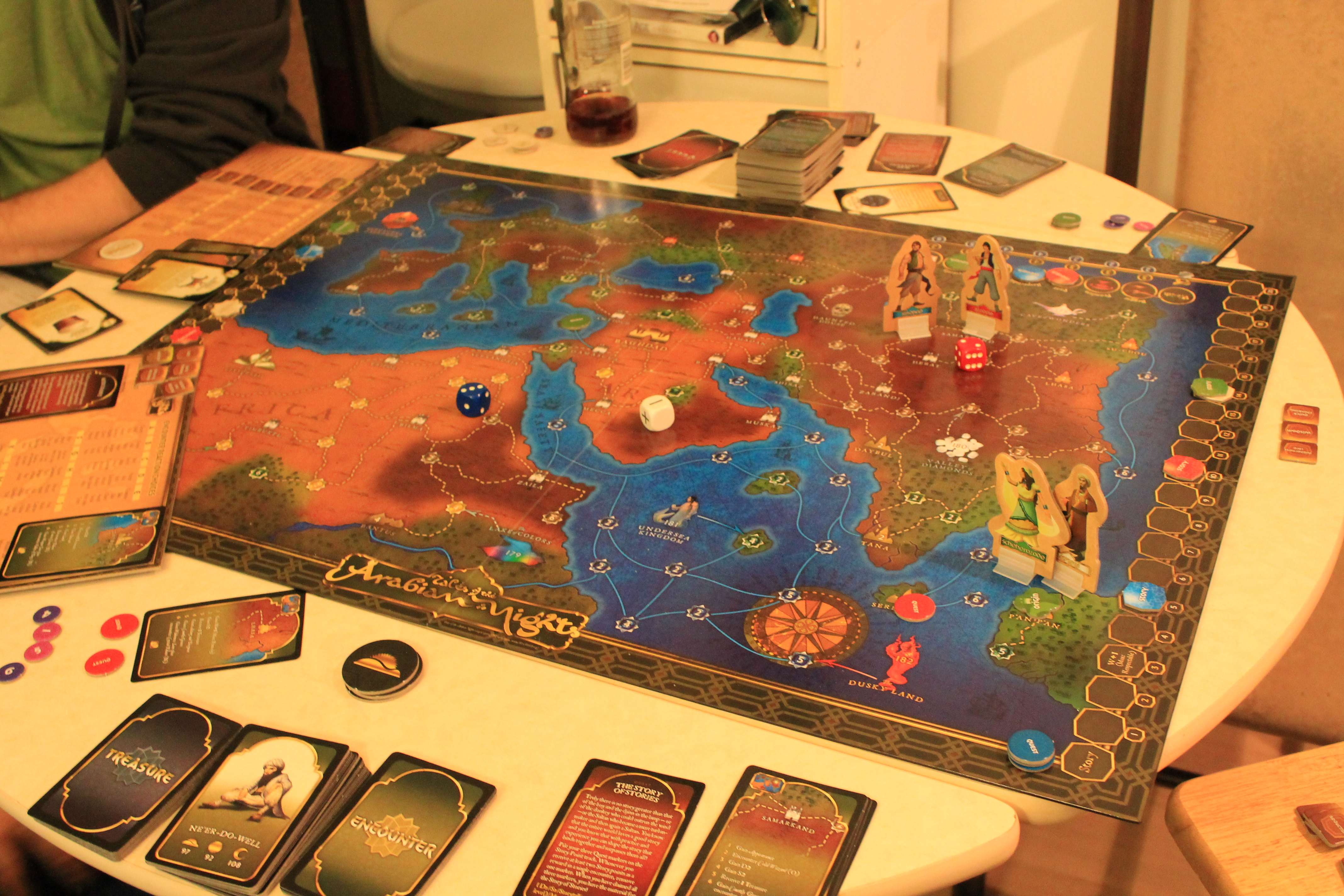 tales of the arabian nights board game review