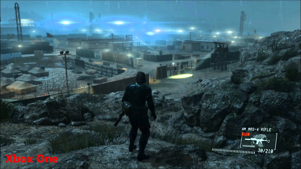 metal gear solid v ground zeroes xbox 360 review