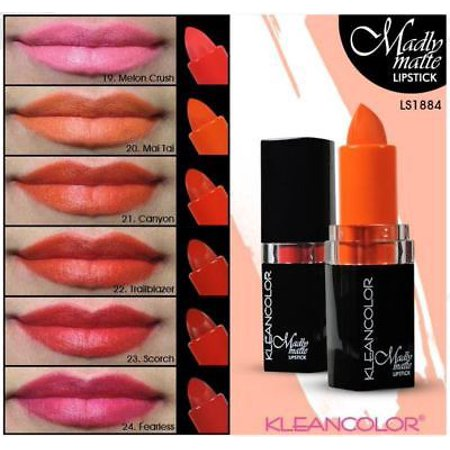 kleancolor madly matte lipstick review