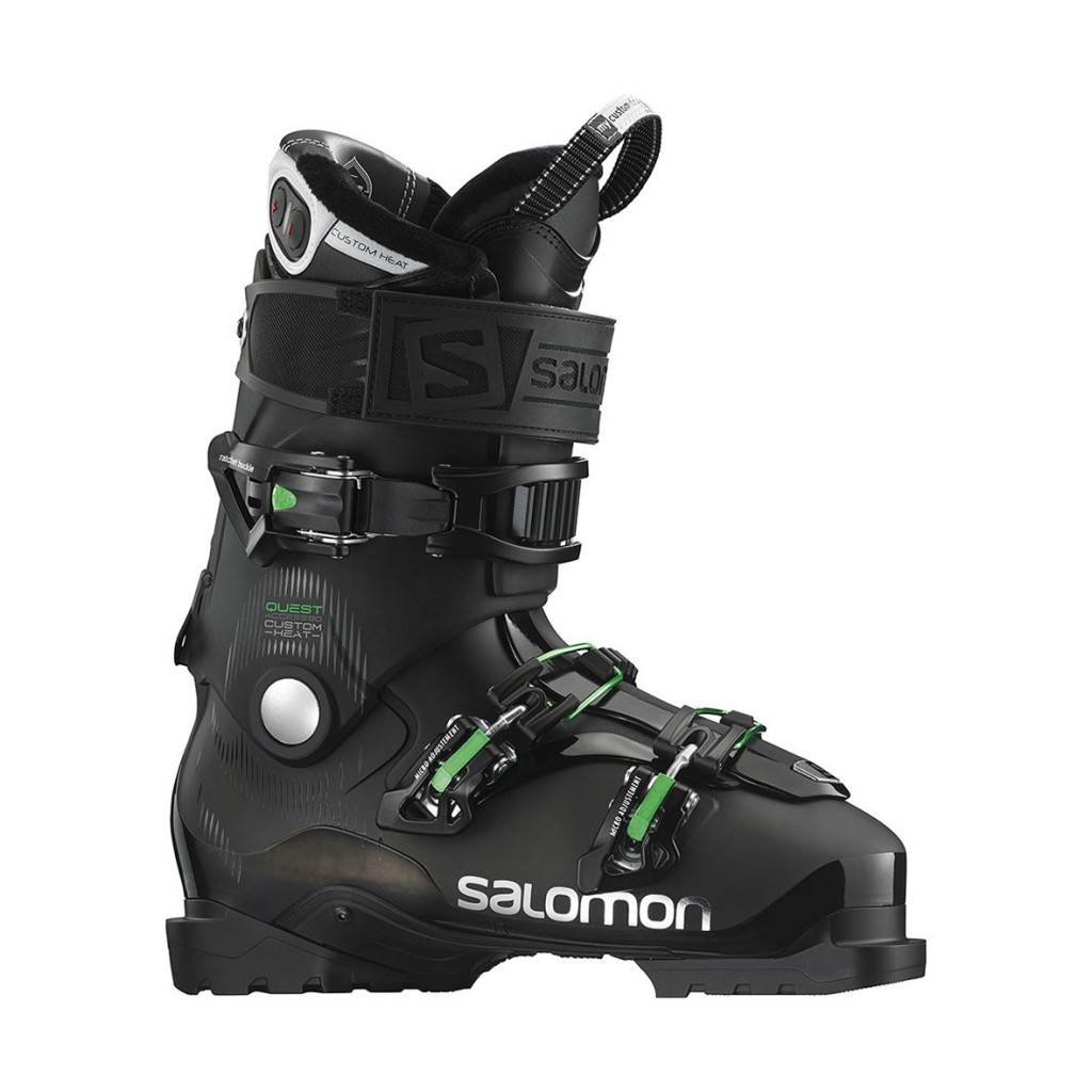 salomon quest access custom heat review