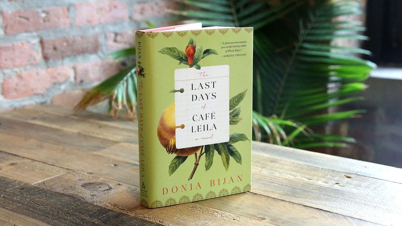 the last days of cafe leila review